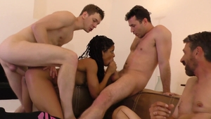 BBW Kira Noir needs rough nailing HD