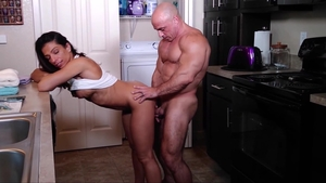 Rough fucking alongside big tits female Alexis Rain