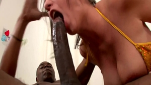 Ebony whore Kelly Divine erotic anal interracial
