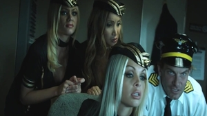 Huge boobs Riley Steele rushes orgy