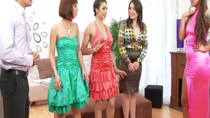 Rough nailing together with Mira Cuckold and Simony Diamond