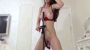 Rough fucking escorted by busty babe