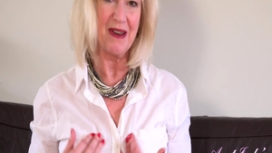 Fingering with busty stepmom Sapphire Louise