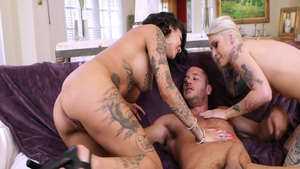 Tattooed chick Kleio Valentien needs ramming hard
