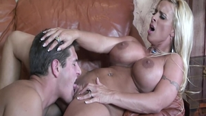 Housewife Holly Halston doggy sex
