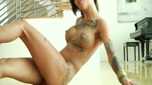 Crazy hard fucking accompanied by Bonnie Rotten