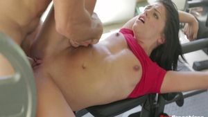 Sucking cock sex video along with young rough Adriana Chechik