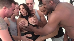 Large boobs Alexis Fawx cougar humping XXX