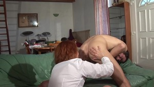 Raw sex together with hairy MILF