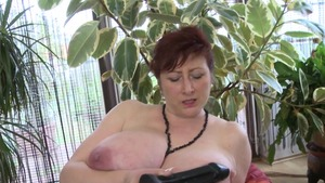 Nailed rough in company with busty housewife
