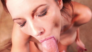 Awesome Mandy Flores cum in mouth