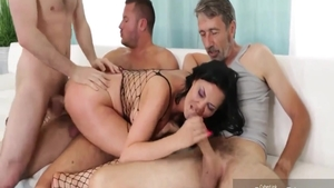 Super hot Jasmine Jae feels up to ramming hard