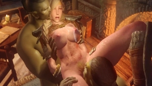Kinky & big boobs fetish blowjobs 3d