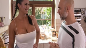 Good fucking with very sexy Chloe Amour and Christian Clay