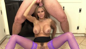 Large boobs Hot Wife Rio pussy fucking