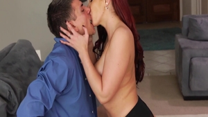 Hardcore ramming hard along with big tits stepmom Kelly Divine