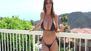 Huge tits stepmom Alexis Fawx craving plowing hard