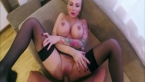Blowjobs together with huge tits stepmom Kayla Green