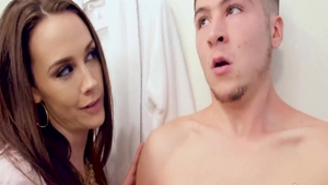 Big ass housewife Chanel Preston reality pussy eating in HD