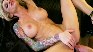 Hot Sarah Jessie blonde haired fucked in the ass sex video