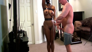Submissive BDSM accompanied by large tits MILF