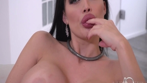 Aletta Ocean in her lingerie ass pounded