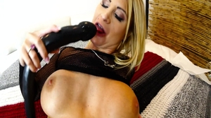 Erotic stroking with Daisy Monroe escorted by Chris Strokes