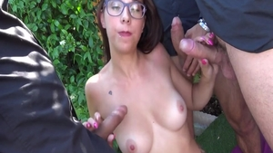 The best sex with skinny french babe