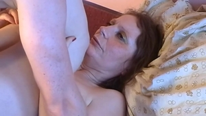 Brunette fucked in the ass