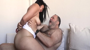 Latina cock sucking