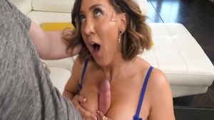 Violet Monroe together with Codey Steele hardcore tits fucking