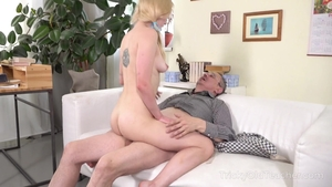 Fucking together with petite pornstar