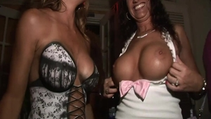 Very sexy & huge tits babe fantasy good fucking in public