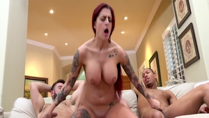 Big boobs MILF Lea Lexis loves orgy