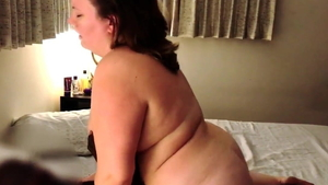 Amateur being pounded by BBC