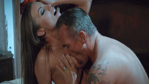 Rough hard pounding along with super hot babe Britney Amber