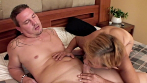 Hairy european granny digs real fucking in HD