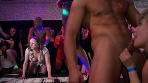 Group sex at the party