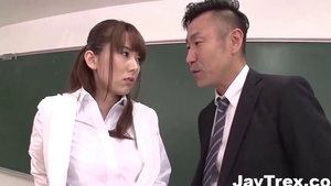 Large tits and perky japanese MILF Yui Hatano ass fucking JAV