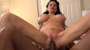 Plowing hard with busty stepmom Rita Daniels