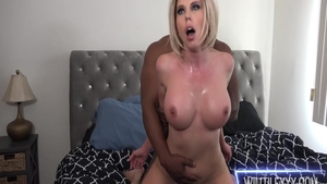 Tattooed Amber Chase interracial fuck
