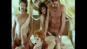 Very sexy and hairy babe raw group sex vintage