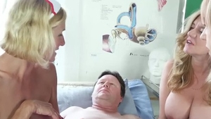 Cumshot with large boobs british nurse Lily May