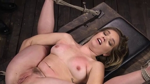 Very kinky Katie Kush enjoys greatly bondage