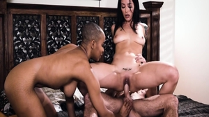 Asian Jenna Foxx interracial pounding