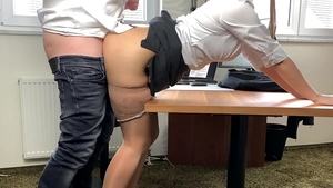 Fetish pussy sex alongside very hot business woman