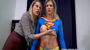 Nikki Brooks in company with Cory Chase ass pounding