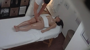 Hard pounding in company with charming czech amateur