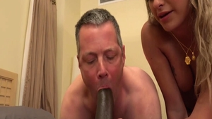 Horny housewife has a passion for hard nailining