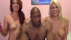 Plowing hard with Layla Price together with Savannah Fox